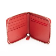 Royce Leather® RFID Blocking Zip Around Wallet, Red