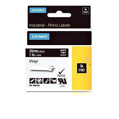 Dymo® Rhino™ Industrial Vinyl Adhesive Labels, 1