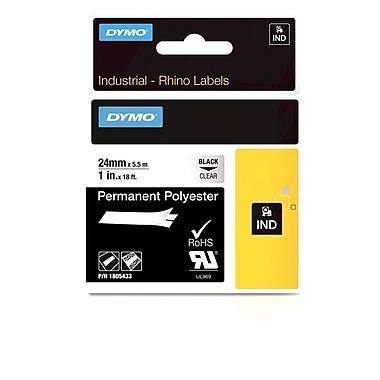 Dymo® Rhino™ Industrial Permenant Poly Adhesive Labels, 1