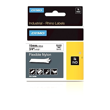 Dymo® Rhino™ Industrial Strength Labels, 3/4