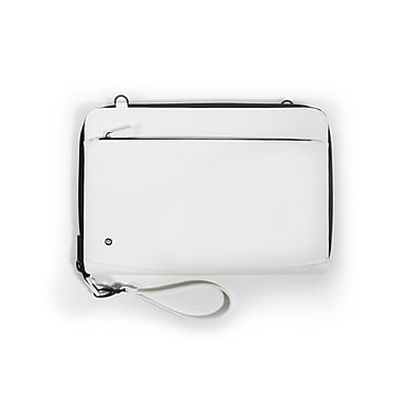 PKG 'Dinner Jackit' MacBook Pro Sleeve Shell with Strap, Faux Cow Leather, 15
