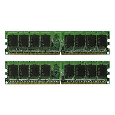 Centon – Module de mémoire amélioré 4 Go (2 x 2 Go) DIMM (SDRAM 240 broches) DDR2 800 (PC2-6400)