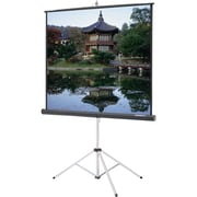 """Da-Lite® 30658 Picture King® 136"""" Portable and Tripod Manual Projection Video Spectra Screen, 1:1"""
