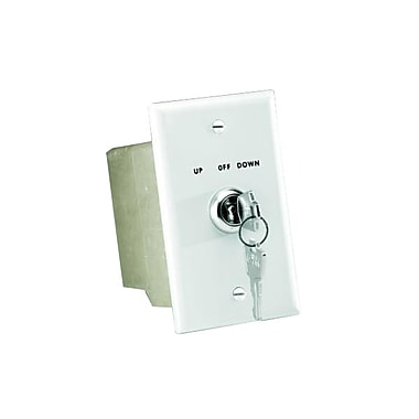 Da-Lite® 74490 Key Operated 115 Volt Switch