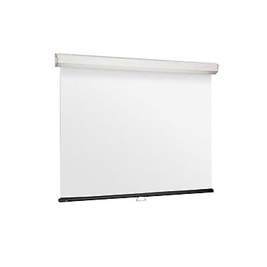 DraperMD – Écran de projection manuel 206009, blanc mat XT1000E, Luma 2, 153,7 po, 1:1