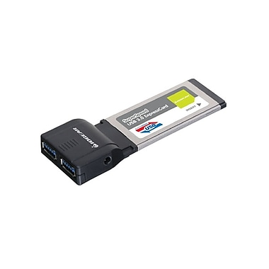 IOGEAR® GEU302 SuperSpeed USB 3.0 Expresscard, 2 Port