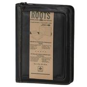 Roots Leather Unisex Business Portfolio, Black