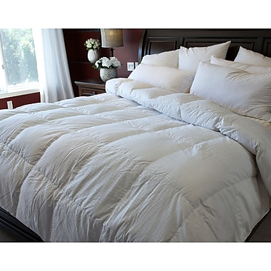 Royal Elite Northern Arctic Goose Down Duvet, 400 Thread Count, Twin, 18 Ounces