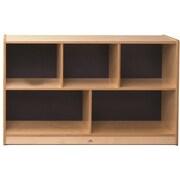 Whitney Plus Birch Laminate Children Storage Cabinet, Blue