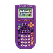 Guerrilla® Silicone Case For Texas Instruments TI 84 Plus C Silver Edition Calculator, Purple