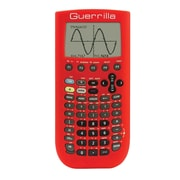 Guerrilla® Silicone Case For Texas Instruments TI Nspire CX& CX CAS Graphing Calculator, Red