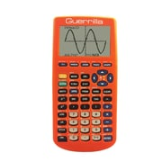 Guerrilla® Silicone Case For Texas Instruments TI 83 Plus Graphing Calculator, Orange