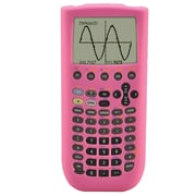 Guerrilla® Silicone Case For Texas Instruments TI 89 Titanium Graphing Calculator, Pink