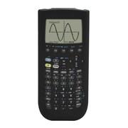 Guerrilla® Silicone Case For Texas Instruments TI 89 Titanium Graphing Calculator, Black