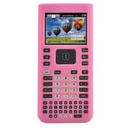 Guerrilla® Silicone Case For Texas Instruments TI Nspire CX& CX CAS Graphing Calculator, Pink