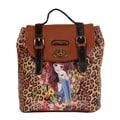 Nicole Lee Sandra Camel Print Backpack