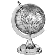 Modern Day Accents Aluminum Old World Globe