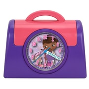 Ashton Sutton Doc McStuffins Quartz Analog Bank Alarm Clock
