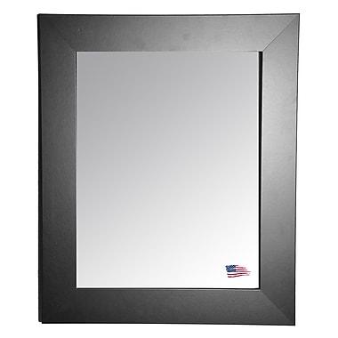 Rayne Mirrors Ava Black Tie Wall Mirror; 45.5'' H x 39.5'' W x 0.75'' D