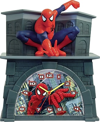 Ashton Sutton Spider-Man Alarm Clock WYF078277110744