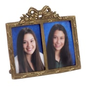 Modern Day Accents Double Picture Frame