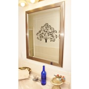 Rayne Mirrors Jovie Jane Silver Rounded Wall Mirror; 31'' H x 25'' W x 0.75'' D