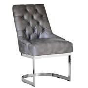 Sunpan Modern Hoxton Side Chair; Grey