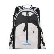 Transpack Sidekick Pro Backpack; White w/Blue Electric