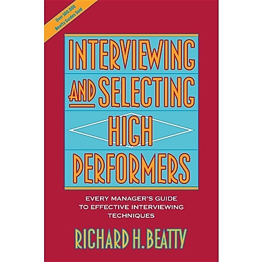 Interviewing High Performers P