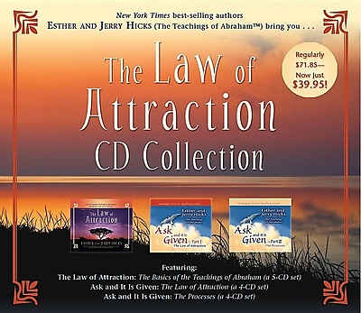 The Law of Attraction CD Collection 1295497