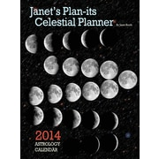 Janet's Plan-Its Celestial Planner 2014 Astrology Calendar