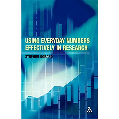 Using Everyday Numbers Effectively in Research