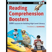 Reading Comprehension Boosters: 100 Lessons for Building Higher-Level Literacy, Grades 3-5