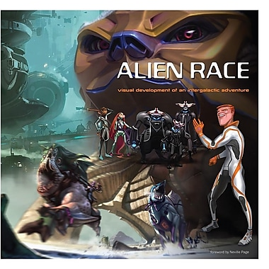 Alien Race: Visual Development of an Intergalactic Adventure