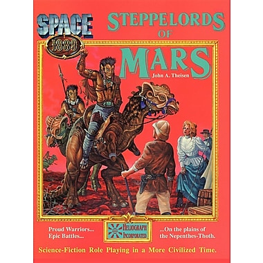 Steppelords of Mars & Caravans of Mars: Adventures for Space: 1889
