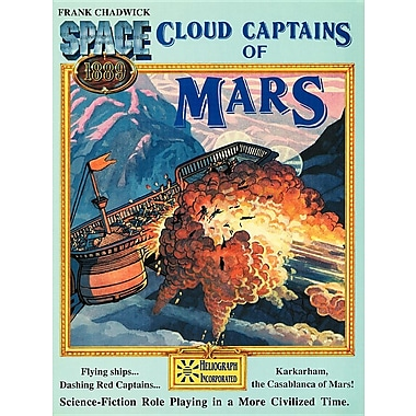 Cloud Captains of Mars & Conklin's Atlas of the Worlds