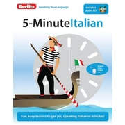 5-Minute Italian [With CD (Audio)]