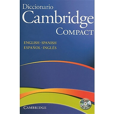 Diccionario Cambridge Compact: English-Spanish/Espanol-Ingles [With CDROM]