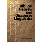 Biblical Hebrew and Discourse Linguistics
