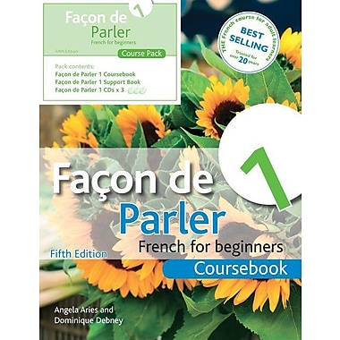 Facon de Parler 1 Course Pack 5th Edition: French for Beginners