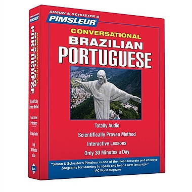 Portuguese (Brazilian), Conversational: Learn to Speak and Understand Brazilian Portuguese with Pimsleur Language Programs