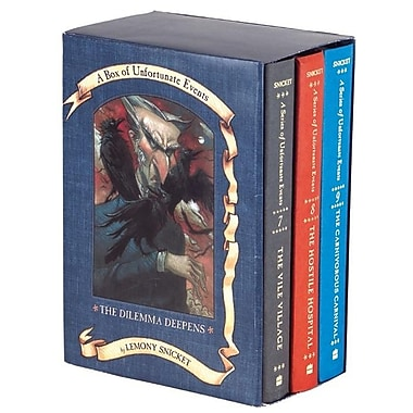A Series of Unfortunate Events Box: The Dilemma Deepens (Books 7-9)