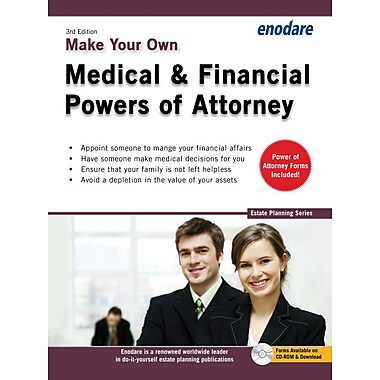 Make Your Own Medical & Financial Powers of Attorney [With CDROM]