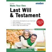 Make Your Own Last Will & Testament [With CDROM]