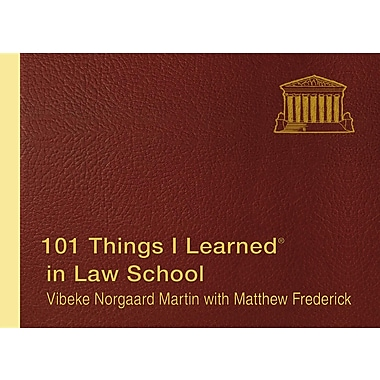 101 Things I Learned (R) in Law School