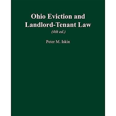 Ohio Eviction and Landlord-Tenant Law (4th Ed.)