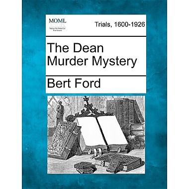 The Dean Murder Mystery