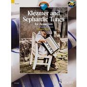 Klezmer and Sephardic Tunes: 33 Traditional Pieces for Accordion with a CD of Performances