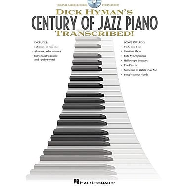 Dick Hyman's Century of Jazz Piano Transcribed! [With DVD]