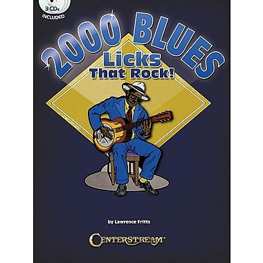 2000 Blues Licks That Rock! [With 3 CDs]